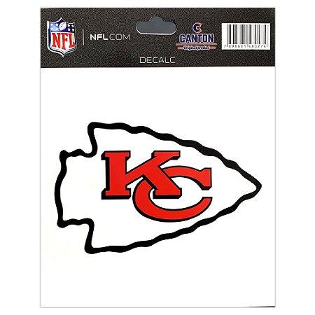 Adesivo Especial Kansas City Chiefs Logo NFL