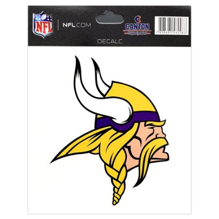 Adesivo Especial Minnesota Vikings Logo NFL
