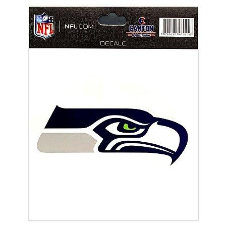 Adesivo Especial Seattle Seahawks Logo NFL
