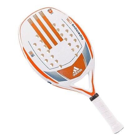 Raquete Beach Tennis Supernova Control Branco/Laranja Adidas