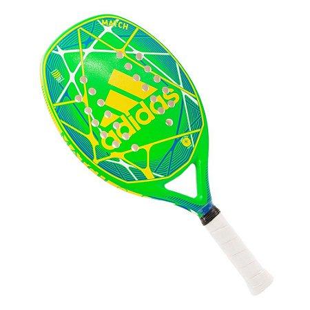 Raquete Beach Tennis Match Verde/Amarelo - Adidas