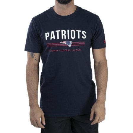 Camiseta New England Patriots SP Stripes - New Era