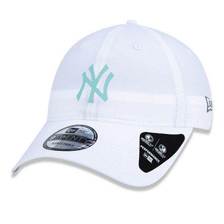 Boné New York Yankees 920 Dry Performance Branco - New Era