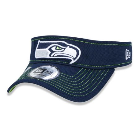 Viseira Seattle Seahawks Sideline Road NFL - New Era