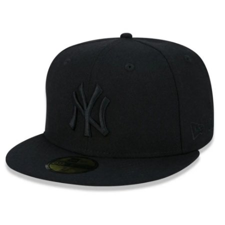 Boné New York Yankees 5950 MLB 100 All Black - New Era