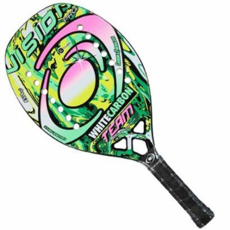 Raquete Beach Tennis White Carbon Team 2020 - Vision