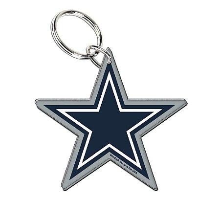 Chaveiro Premium Acrílico Dallas Cowboys NFL