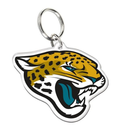 Chaveiro Premium Acrílico Jacksonville Jaguars NFL