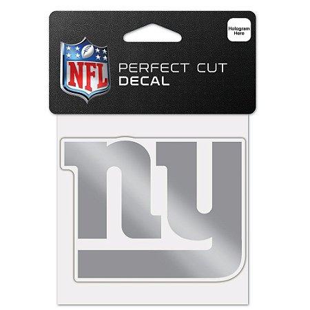 Adesivo Perfect Cut Decal Cromado NFL New York Giants