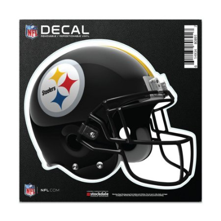 Adesivo All Surface Capacete NFL Pittsburgh Steelers