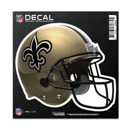 Adesivo All Surface Capacete NFL New Orleans Saints