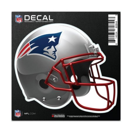 Adesivo All Surface Capacete NFL New England Patriots
