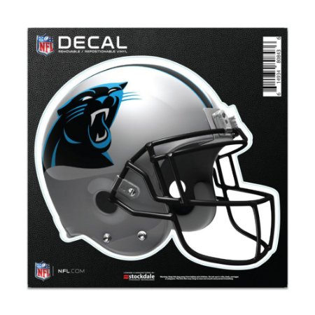 Adesivo All Surface Capacete NFL Carolina Panthers
