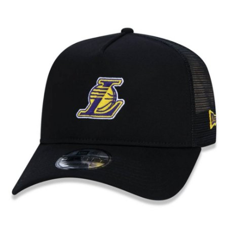 Boné Los Angeles Lakers 940 Essentials Trucker A-Frame - New Era