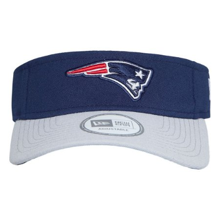Viseira New England Patriots Sideline NFL - New Era