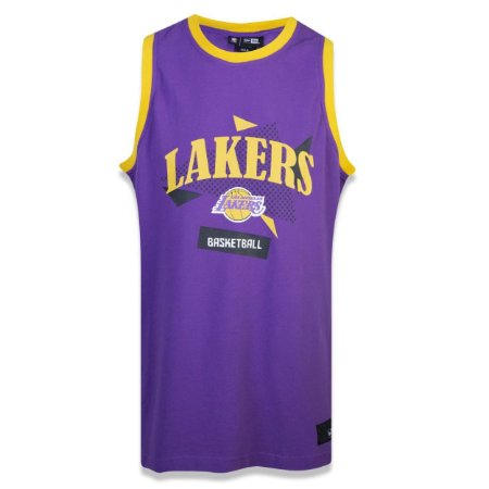 Regata Los Angeles Lakers Sports Basketball - New Era