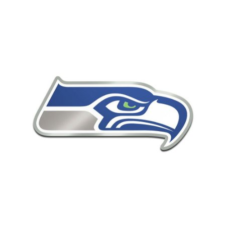 Auto Emblema Acrílico/Metal Seattle Seahawks NFL