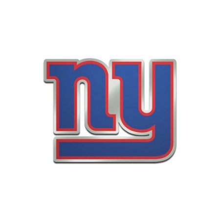 Auto Emblema Acrílico/Metal New York Giants NFL