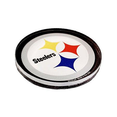 Imã Magnético Acrílico Pittsburgh Steelers NFL