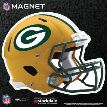 Imã Magnético Vinil 15cm Green Bay Packers NFL