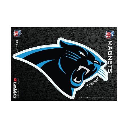 Imã Magnético Vinil 7x12cm Carolina Panthers NFL
