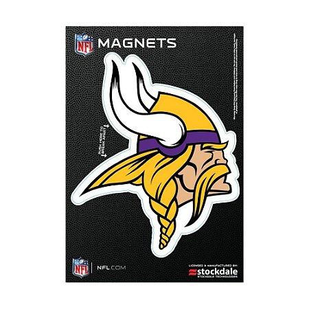 Imã Magnético Vinil 7x12cm Minnesota Vikings NFL