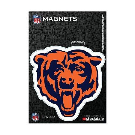 Imã Magnético Vinil 7x12cm Chicago Bears NFL