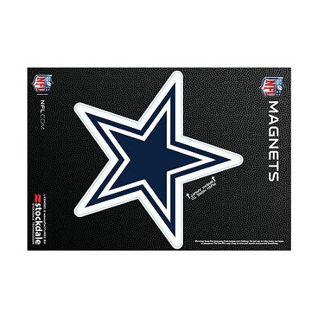 Imã Magnético Vinil 7x12cm Dallas Cowboys NFL