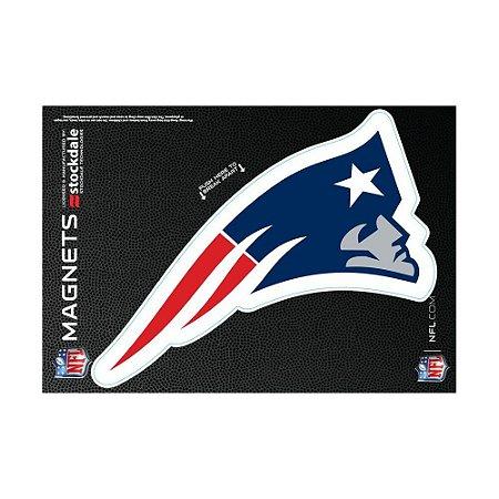 Imã Magnético Vinil 7x12cm New England Patriots NFL