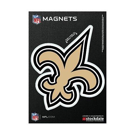 Imã Magnético Vinil 7x12cm New Orleans Saints NFL