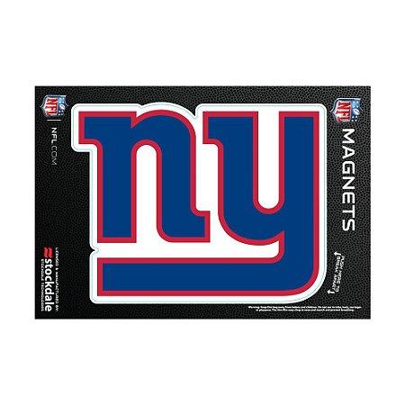 Imã Magnético Vinil 7x12cm New York Giants NFL