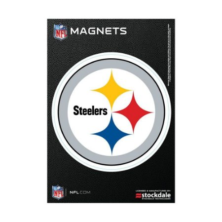 Imã Magnético Vinil 7x12cm Pittsburgh Steelers NFL