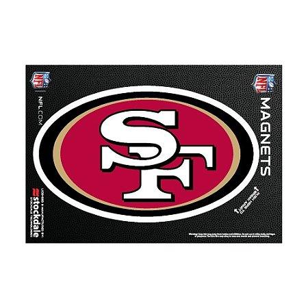 Imã Magnético Vinil 7x12cm San Francisco 49ers NFL
