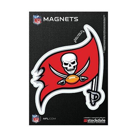 Imã Magnético Vinil 7x12cm Tampa Bay Buccaneers NFL