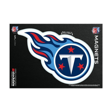 Imã Magnético Vinil 7x12cm Tennessee Titans NFL