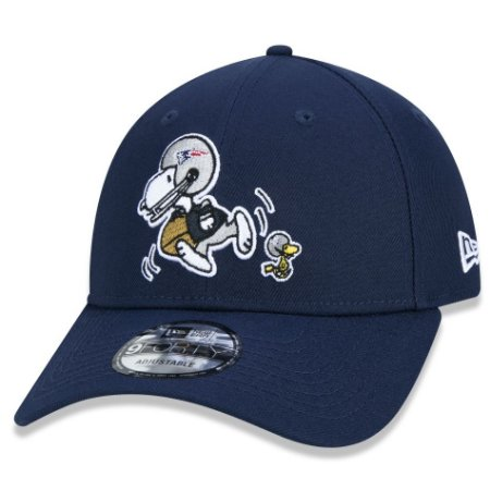 Boné New England Patriots 940 Peanuts Snoopy Ocean Blue - New Era