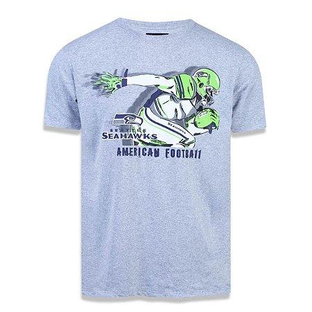 Camiseta Seattle Seahawks Sport Player - New Era