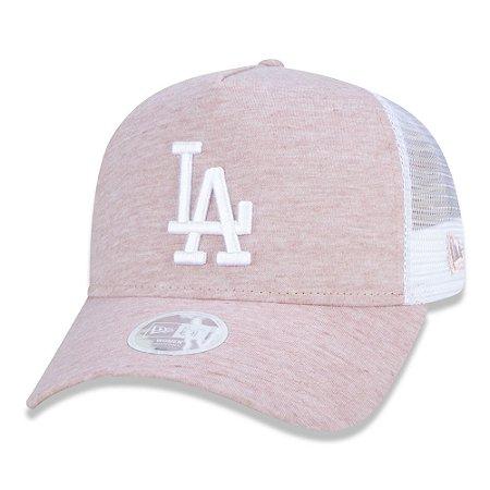 Boné Los Angeles Dodgers 940 Woman Jersey Rosa - New Era