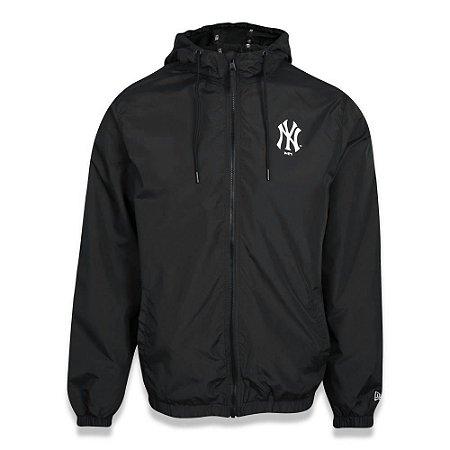 Jaqueta Quebra vento New York Yankees Sazonal Quad Preto - New Era
