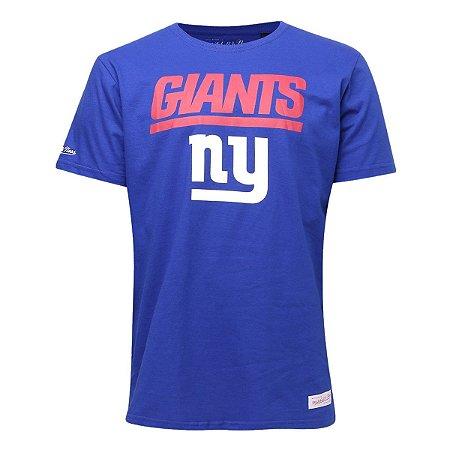 Camiseta NFL New York Giants Estampada Azul - M&N