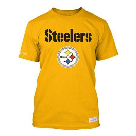 Camiseta NFL Pittsburgh Steelers Estampada Amarelo - M&N