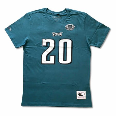 Camiseta NFL Philadelphia Eagles Player 20 Brian Dawkins Verde - M&N