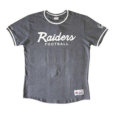 Camiseta NFL Las Vegas Raiders Especial Cinza - M&N
