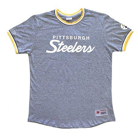 Camiseta NFL Pittsburgh Steelers Especial Cinza - M&N