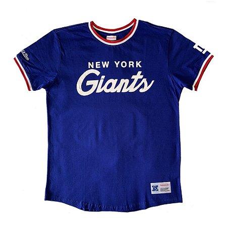 Camiseta NFL New York Giants Especial Azul - M&N
