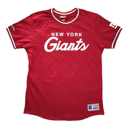 Camiseta NFL New York Giants Especial Vermelho - M&N