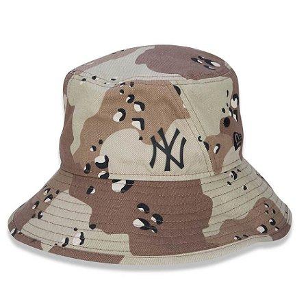 Chapéu Bucket New York Yankees MLB Desert Full Print - New Era