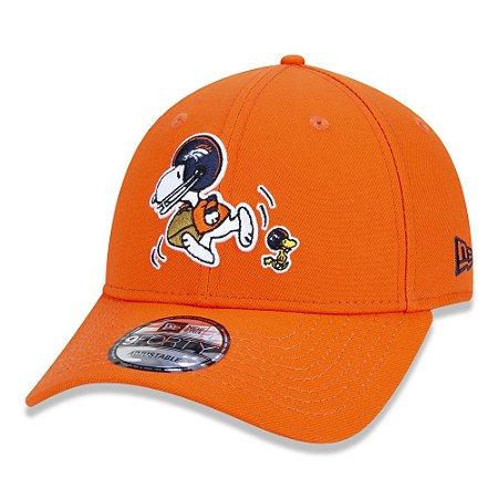 Boné Denver Broncos 940 Peanuts Snoopy Orange - New Era