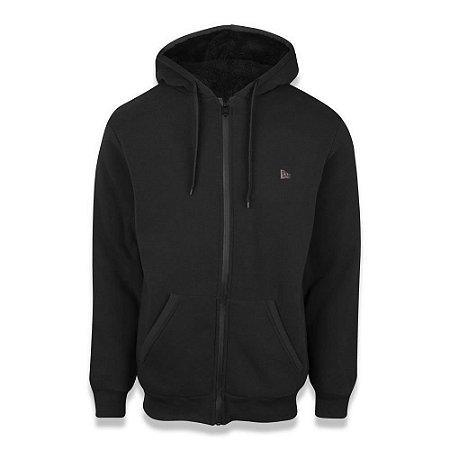 Moletom Sazonal Fur Branded Preto - New Era