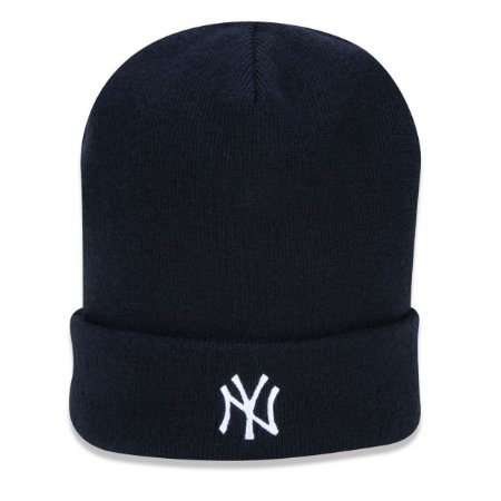 Gorro Touca New York Yankees Plaid Dupla Face - New Era
